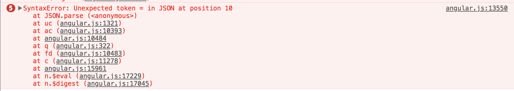 http is parsing a request to JSON ignoring the content-type