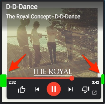 Mini player controls are not centered  · Issue #2699
