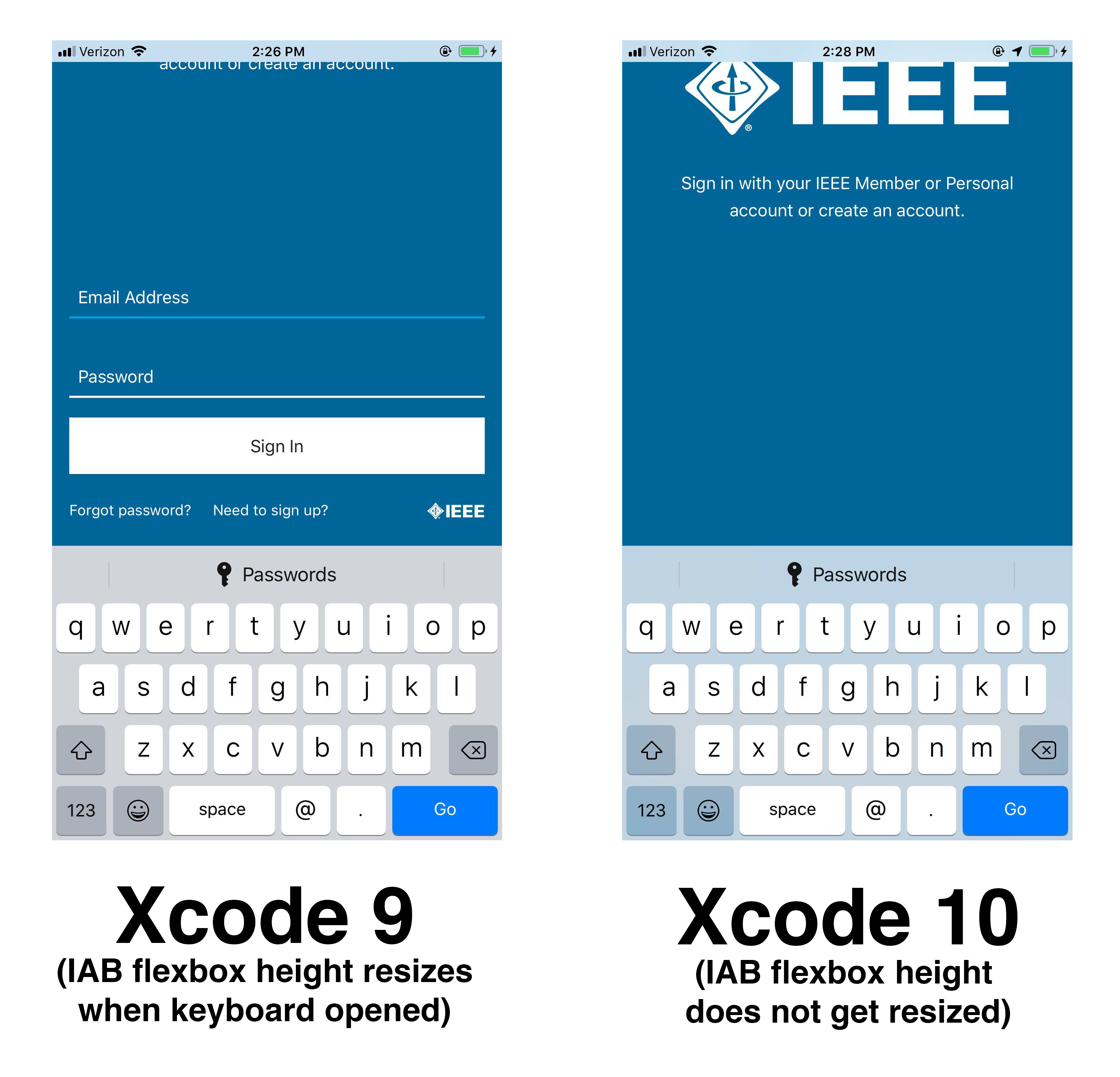 InAppBrowser + Keyboard Issue iOS 12 (XCode 10) · Issue #59 · ionic