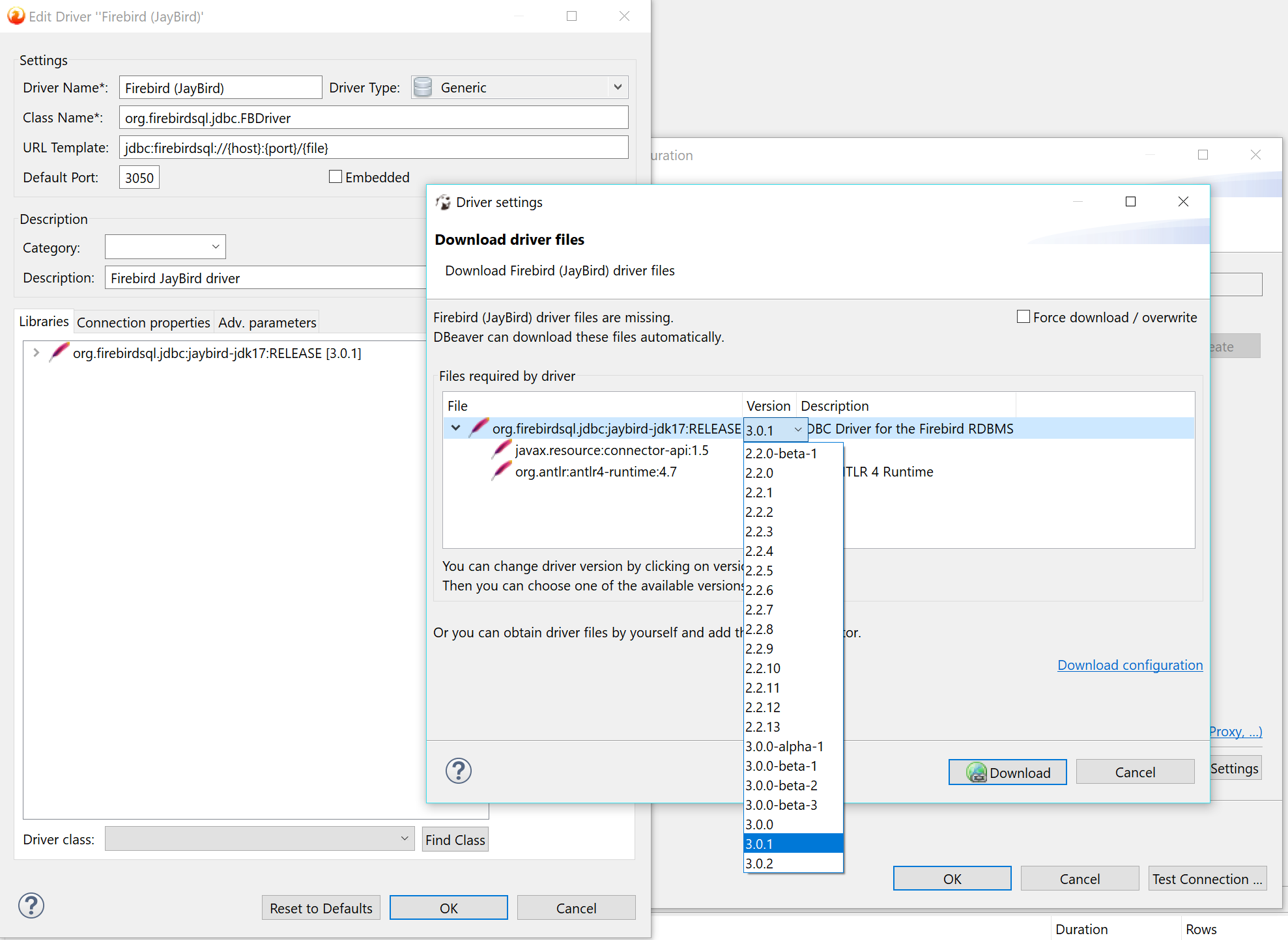Error on connect Firebird 3 · Issue #2424 · dbeaver/dbeaver · GitHub