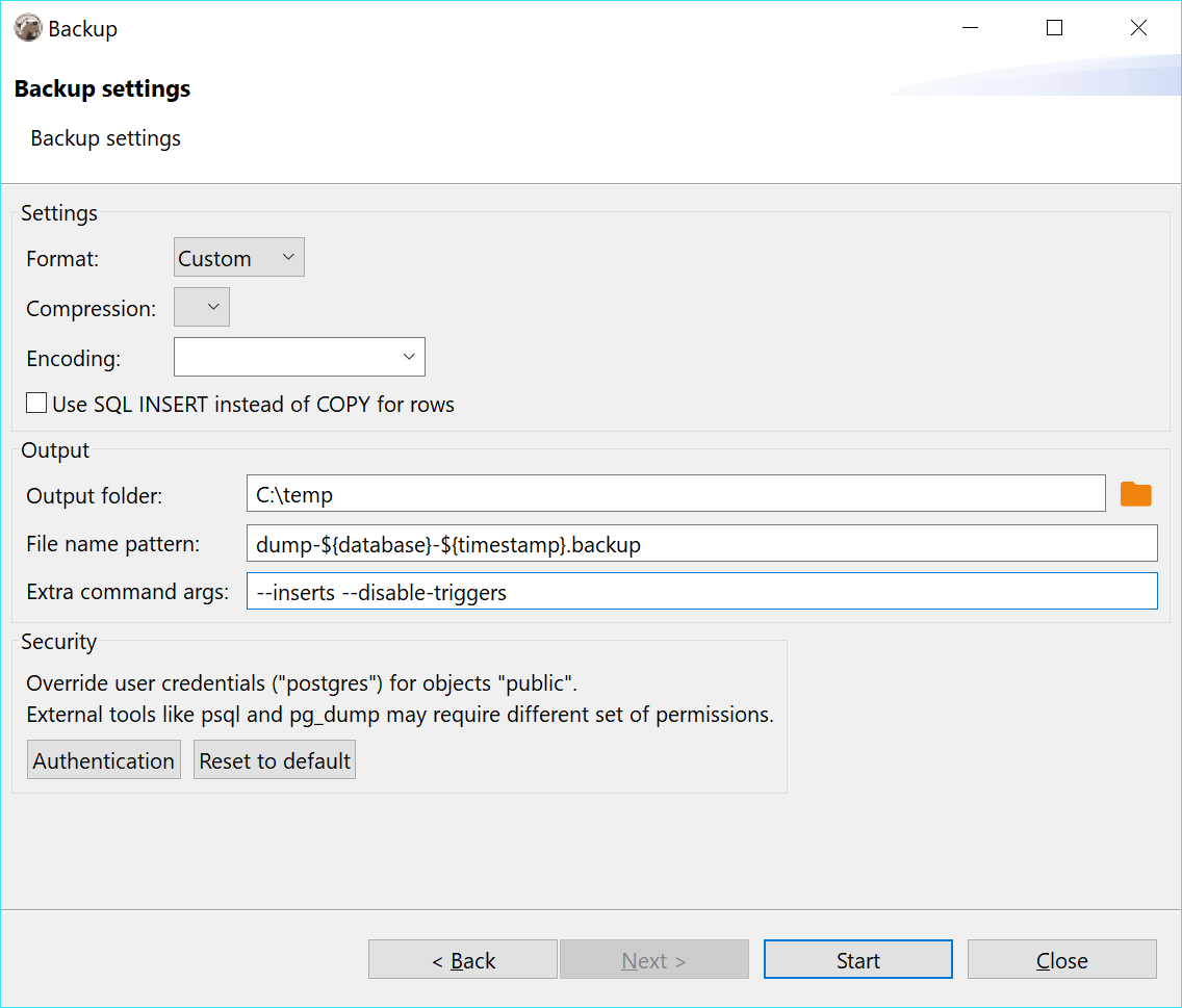 No restore for table of PostgreSQL · Issue #2707 · dbeaver/dbeaver