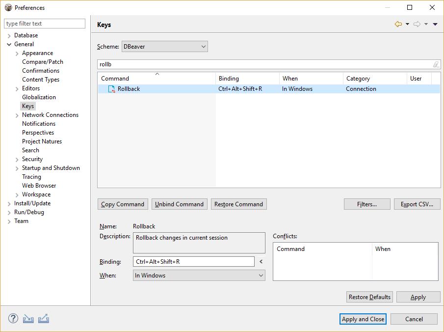 Rollback shortcut · Issue #4197 · dbeaver/dbeaver · GitHub