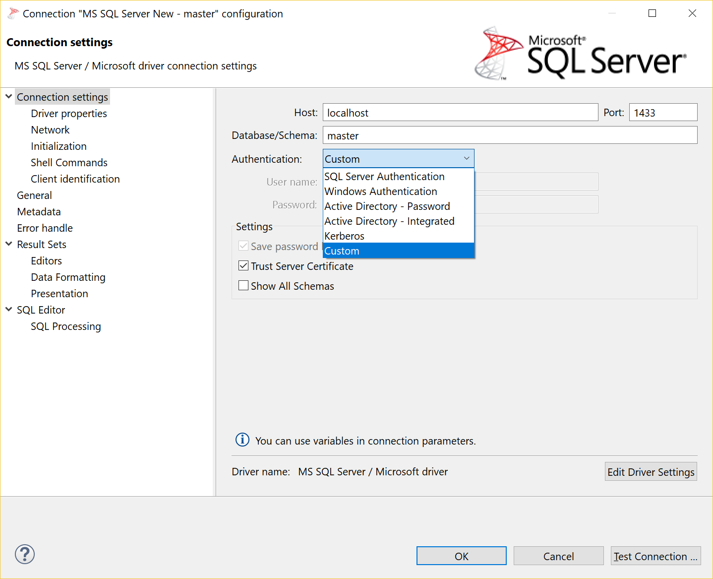 Feature Request Active Directory Support For Microsoft Driver