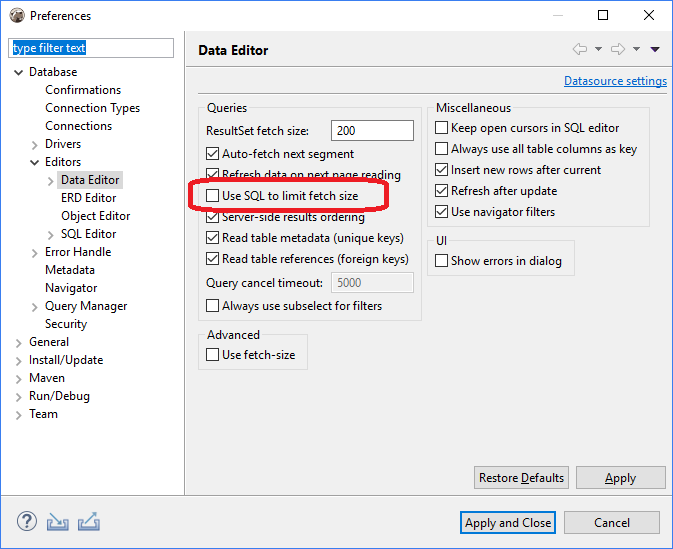 Problem azure ms sql after update · Issue #5825 · dbeaver/dbeaver