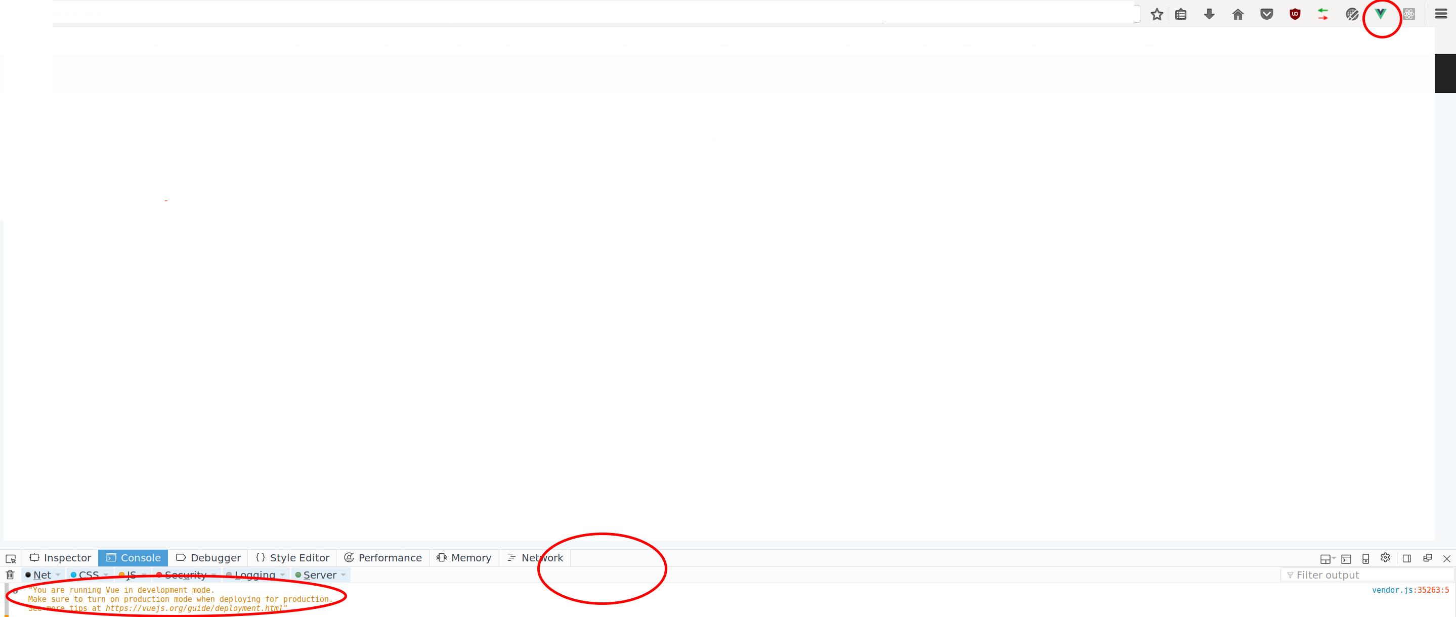 Firefox] No VueJS tab in developer tools · Issue #366