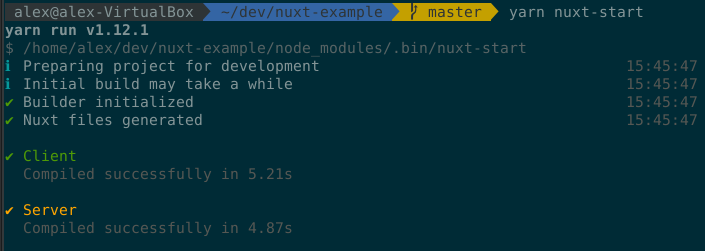 nuxt-start tries to build the project · Bug Report #c8184