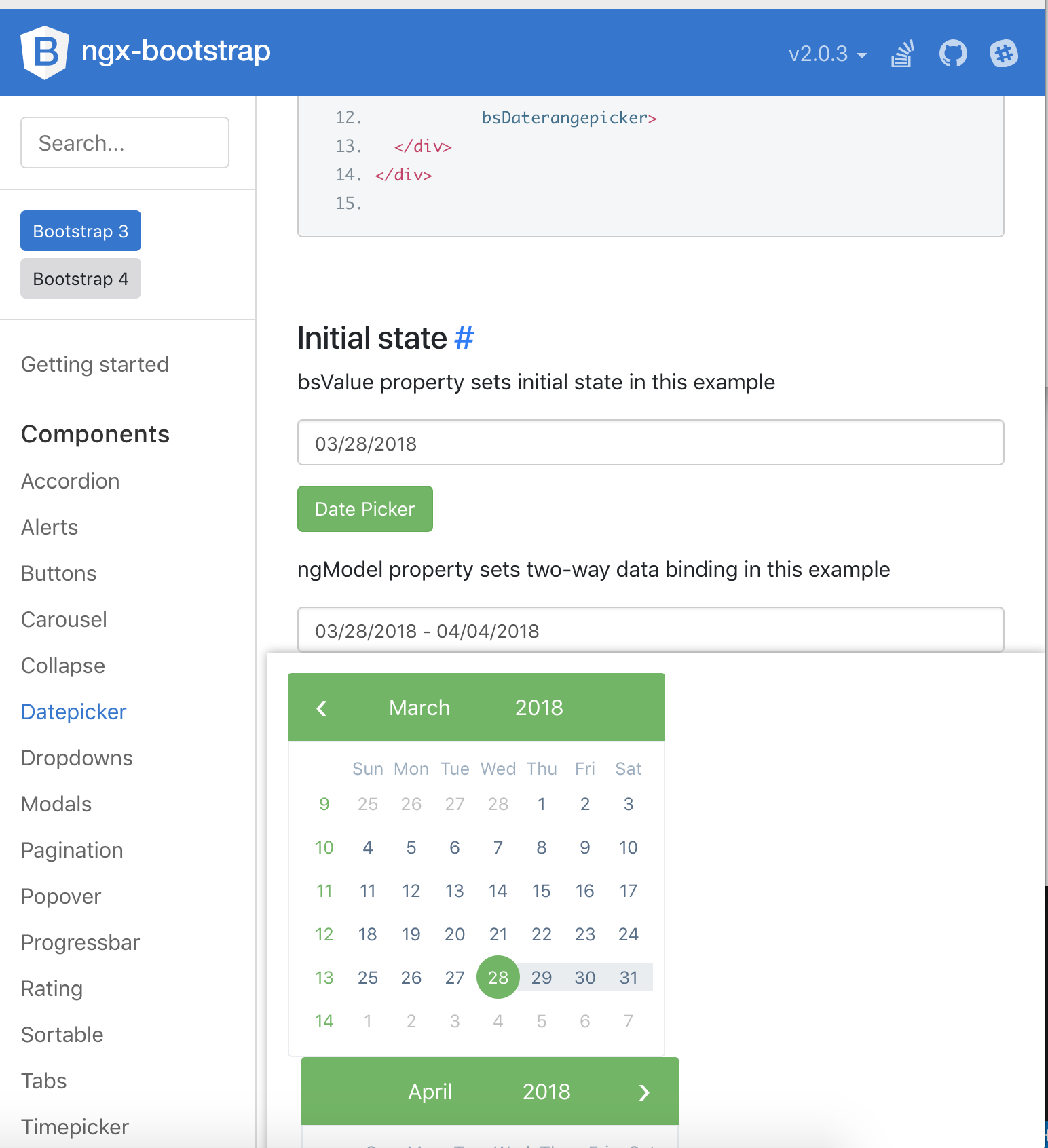 Responsive CSS Date Range Picker Bootstrap 3 · Issue #4127
