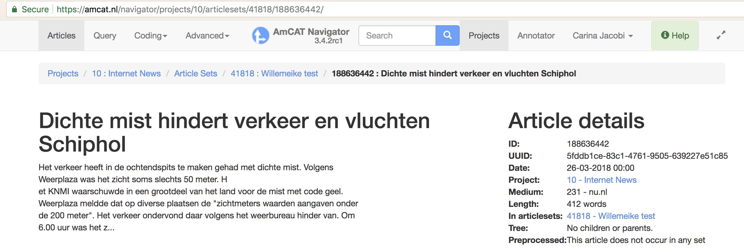 Lexis Nexis uploader ignores URL for online media · Issue
