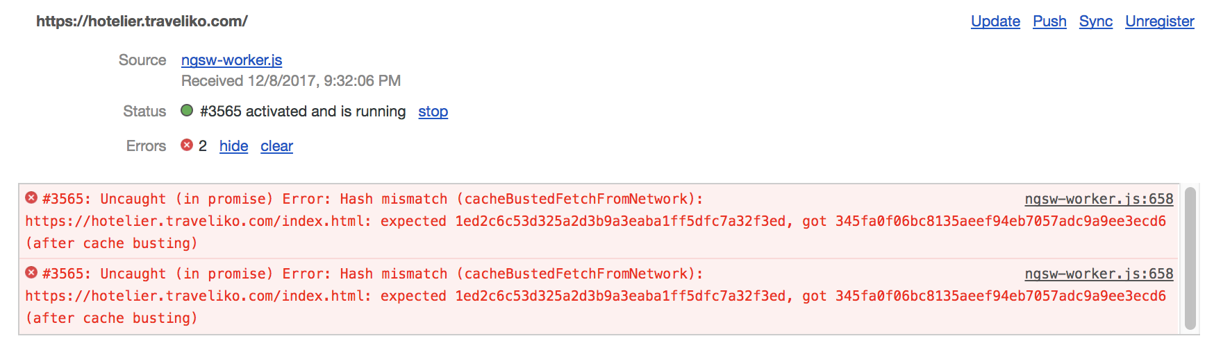 app-shell] Doesn't work together with @angular/service