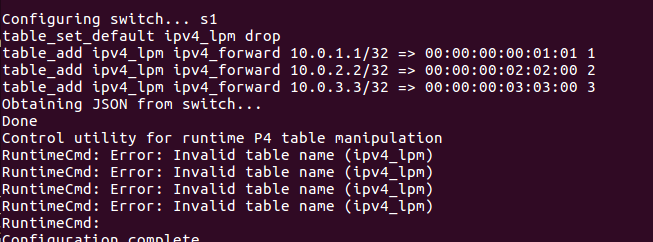 Some problem occur when I reinstall P4 · Issue #113 · p4lang