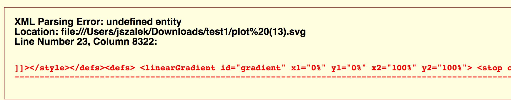 xmlexception error