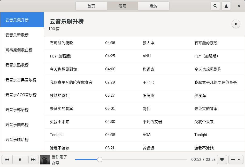 GitHub - gmg137/netease-cloud-music-gtk: Linux 平台下基于Rust + GTK