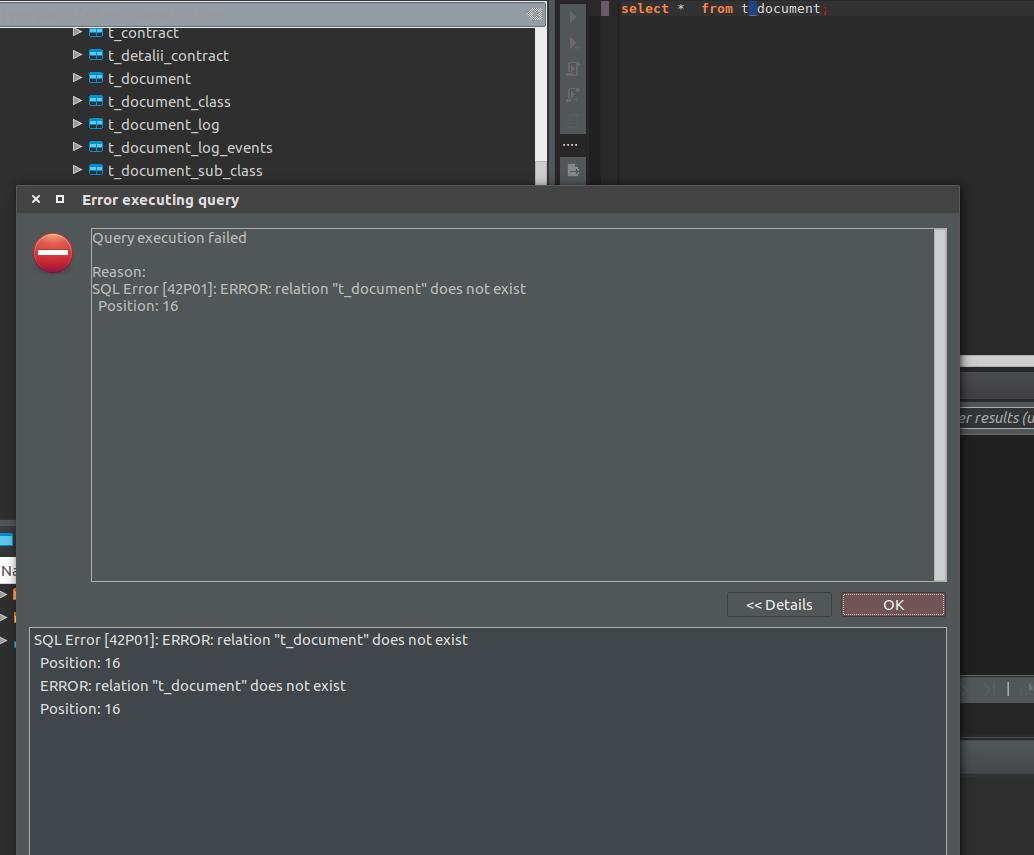 PostgreSQL: database switch problem · Issue #1346 · dbeaver/dbeaver