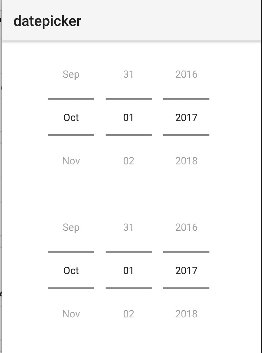 Android: DatePicker shows wrong month · Issue #4851 · NativeScript