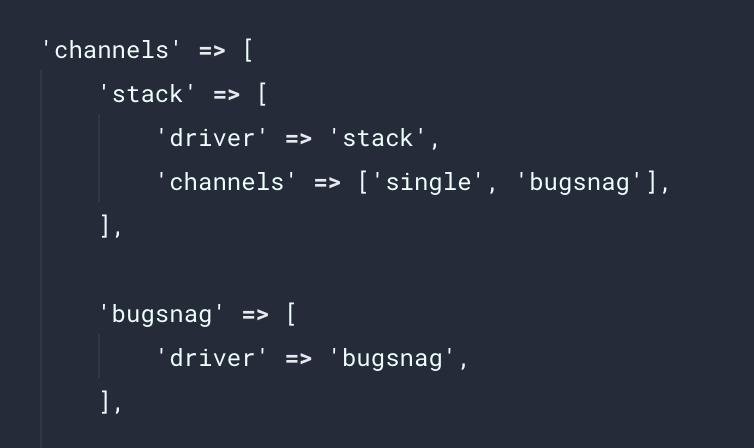Errors are not sent to Bugsnag in Laravel 5 6 · Issue #311 · bugsnag