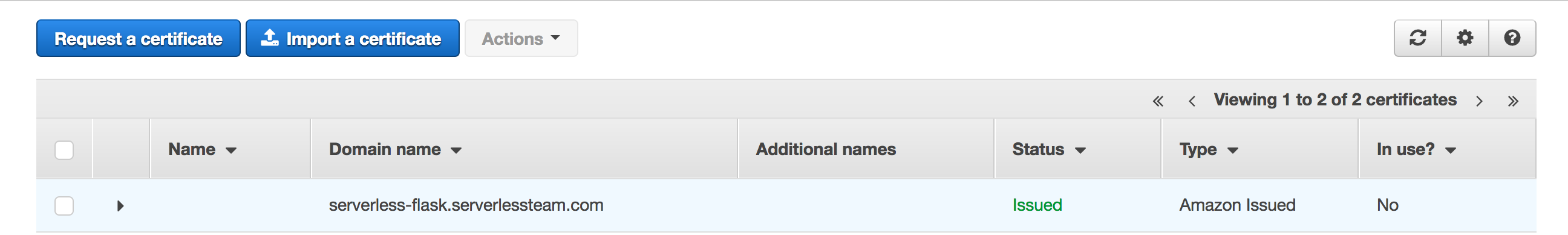 How to set up a custom domain name for Lambda & API Gateway