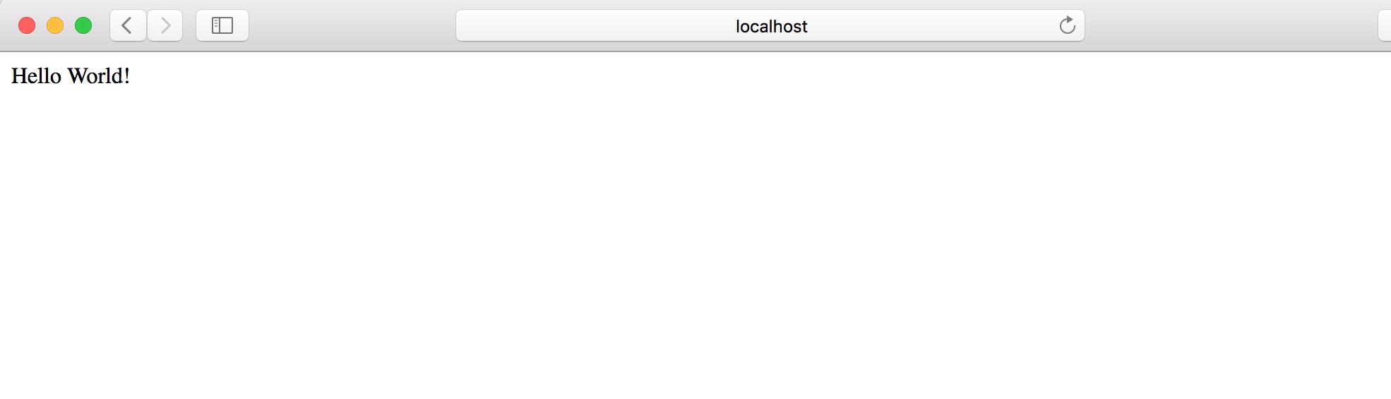 Serverless WSGI Serve