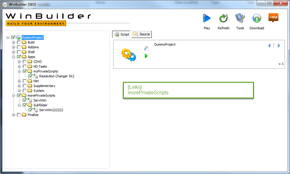 Folder Project Links are broken · Issue #45 · pebakery
