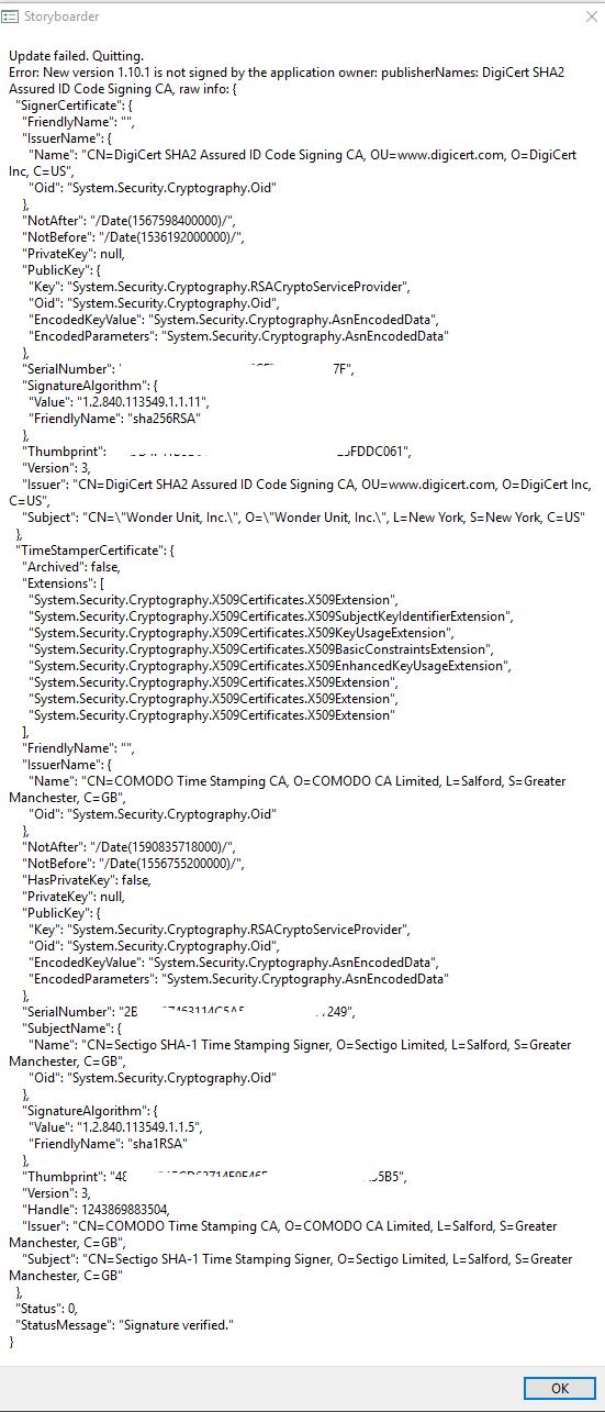 1 10 1 update error on Windows · Issue #1681 · wonderunit