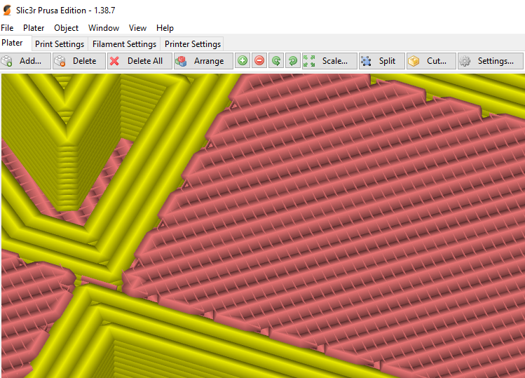 Implement Cura's Ironing Feature for a more smoother surface finish