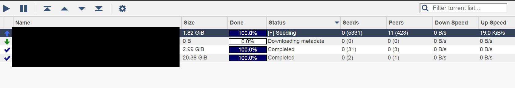 QBittorrent stuck at downloading metadata · Issue #45 · linuxserver