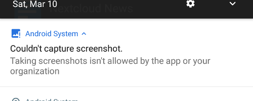 Does not work with apps that block screenshots · Issue #36