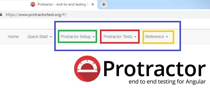 Protractor against webdriver-manager This version of