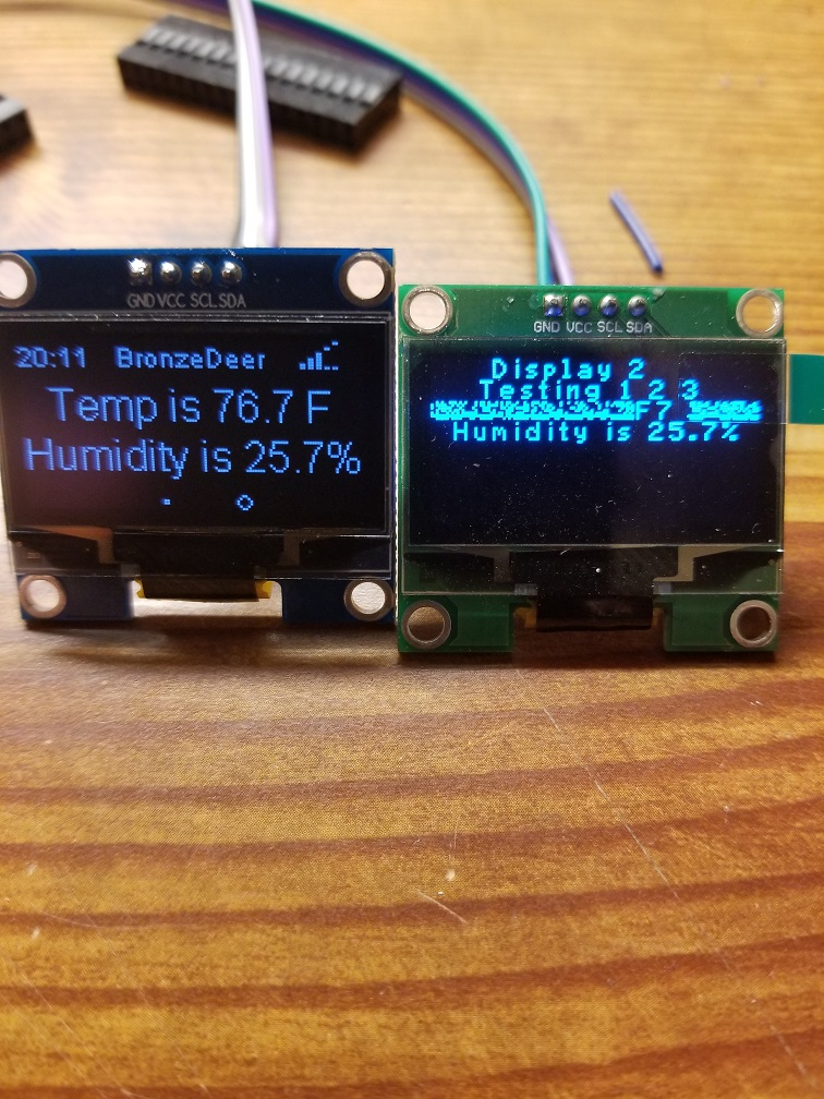 Add Degree Character To Oled Plugindont Show Garbage For Unknown