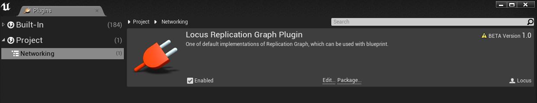 GitHub - locus84/LocusReplicationGraph: UnrealEngine4