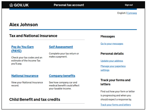 pta card submission to hmrc design system google docs