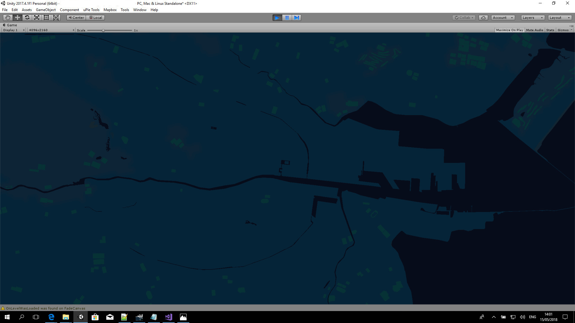 Unity SDK fails to render key features when using custom map