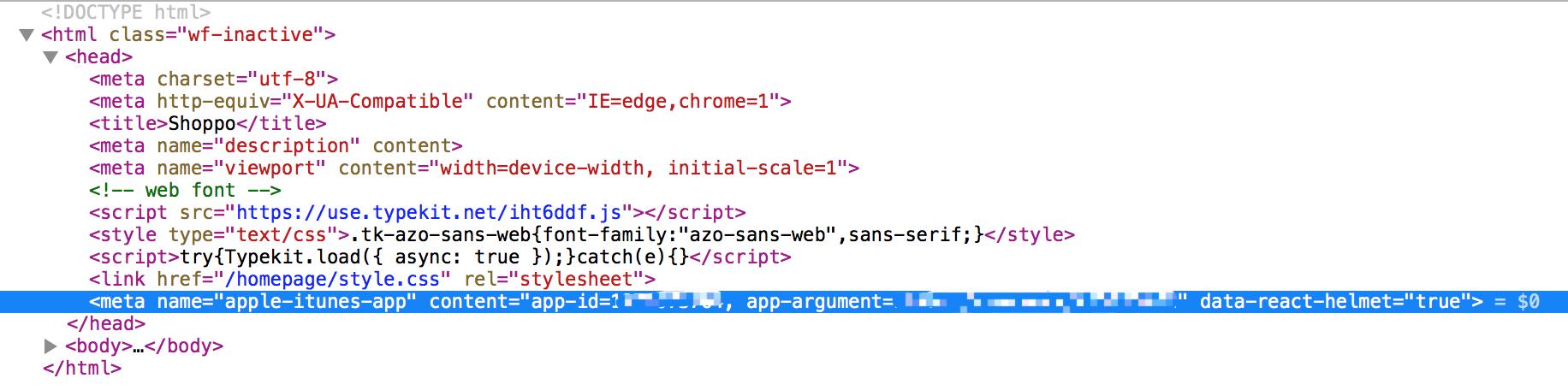 Apple Smart Banner not working · Issue #319 · nfl/react-helmet · GitHub