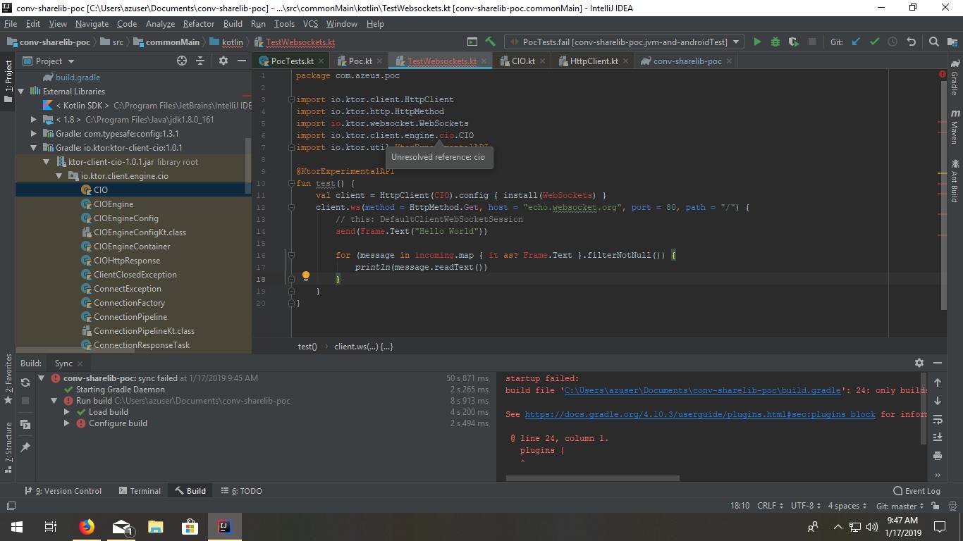 Ktor 是一个使用 Kotlin 以最小的成本快速创建 Web 应用程序的框架