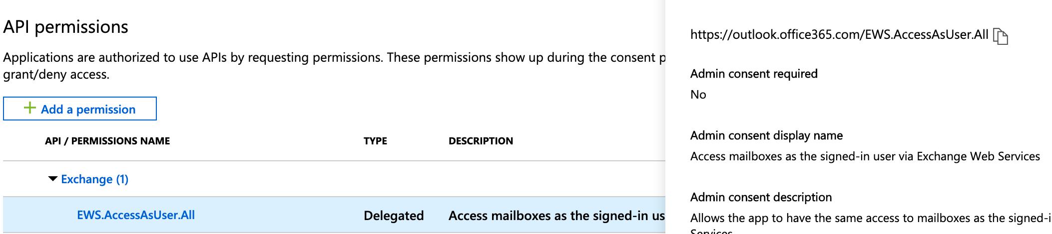 Accessing EWS via MSAL · Issue #518 · AzureAD/microsoft