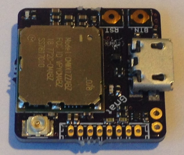 Gnat LoRa+GNSS Asset Tracker from Tlera Corp on Tindie