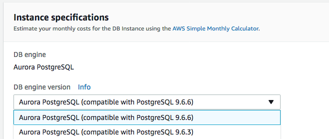 Parameter engine_version ignored for aws_rds_cluster using