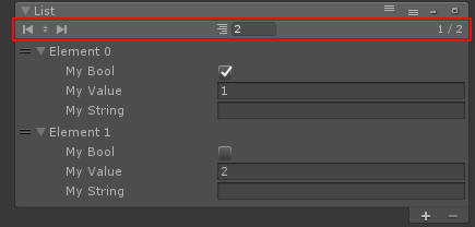 Unity List In Inspector