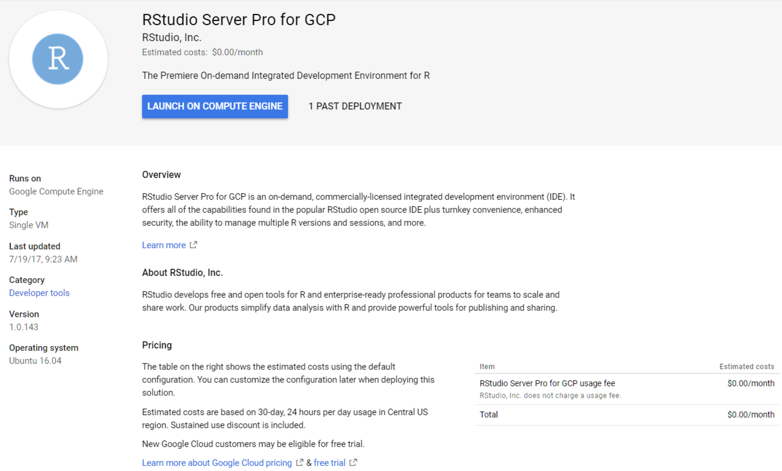 RStudio Server Pro is ready for BigQuery on the Google Cloud Platform