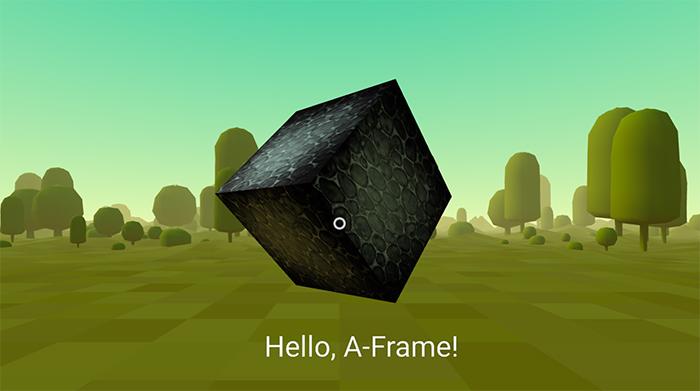 Building a Basic Scene – A-Frame