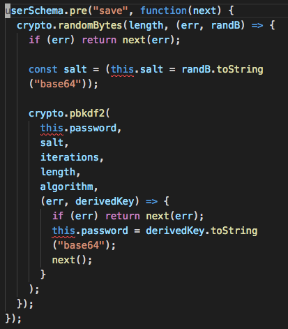 types/mongoose] `this` has type `any` in a `pre` hook