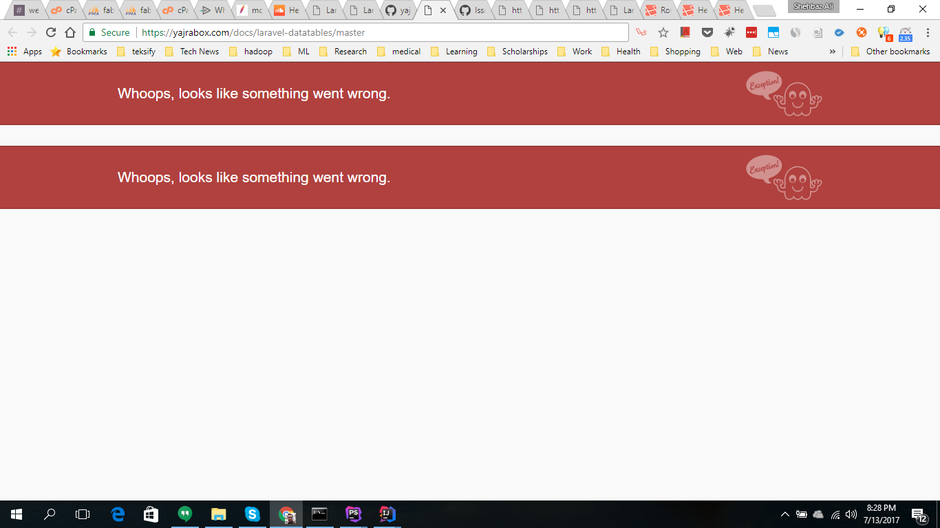 website down and bugged https://yajrabox com/ · Issue #1262