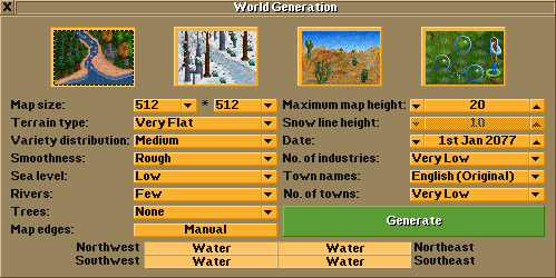 World Generation window v1 0