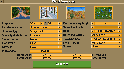 World Generation window v3 0