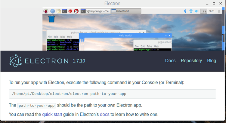 Browser window freeze on Raspberry Pi 3 · Issue #11472 · electron