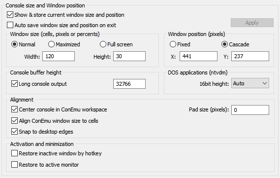 Window size not adjusted when dragging form high dpi to