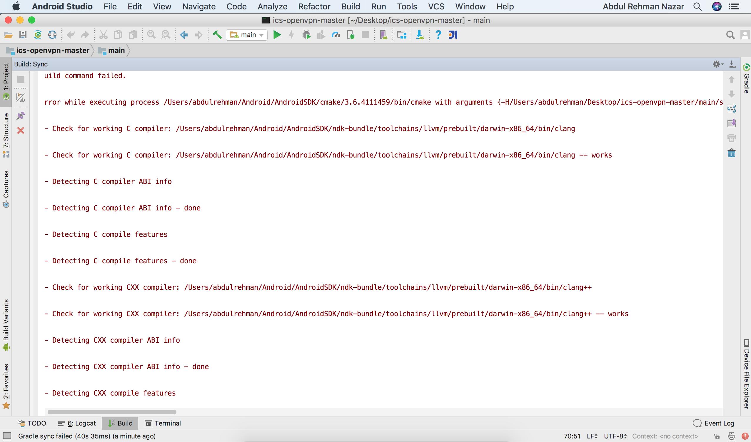 Build Command failed · Issue #932 · schwabe/ics-openvpn · GitHub