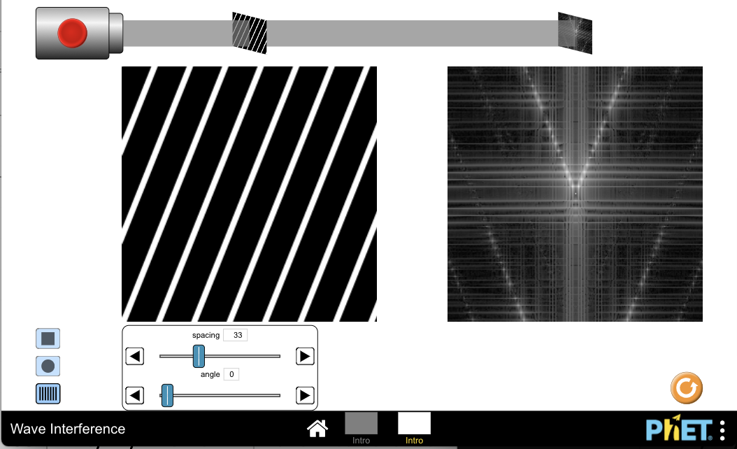 Create design and algorithm for multiple slits diffraction · Issue