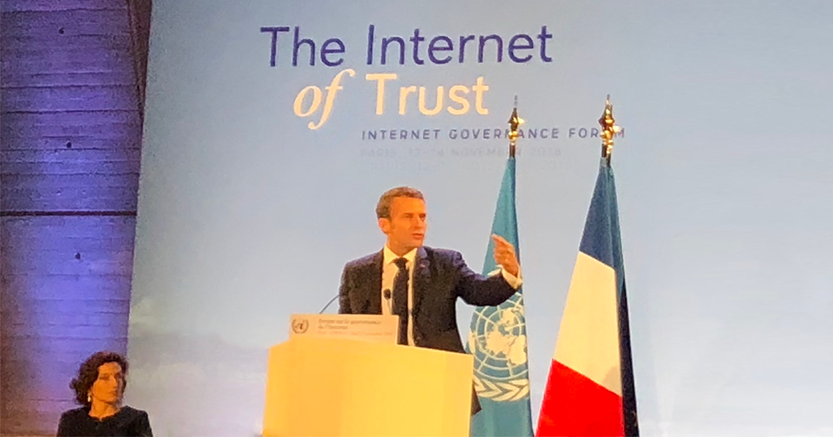 The Internet of Trust: Internet Governance Forum