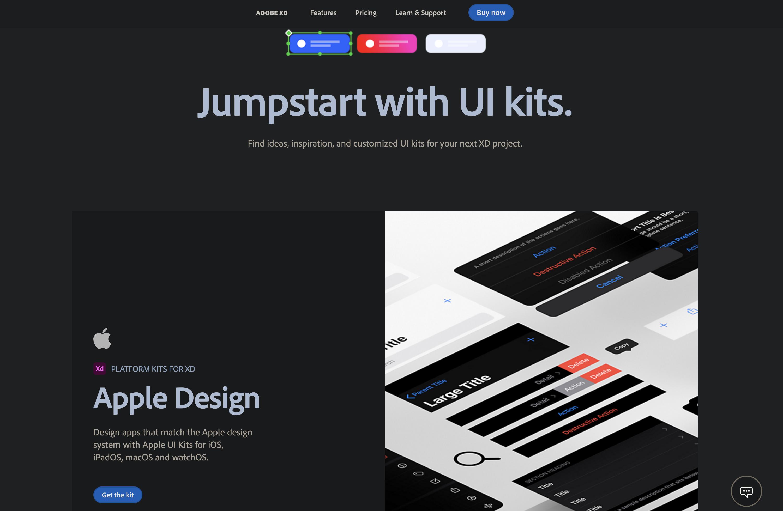 Adobe XD UI Kit