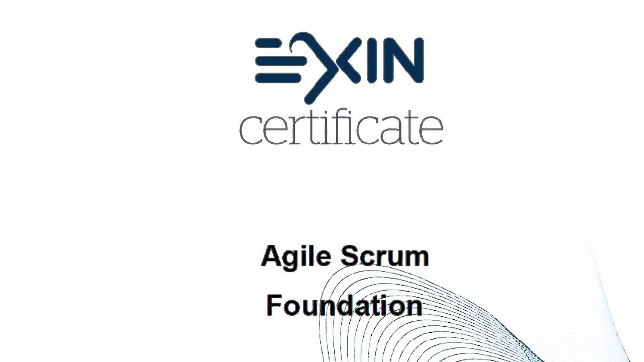 EXIN Agile Scrum Foundation 合格体験記 [スクラムマスター資格]